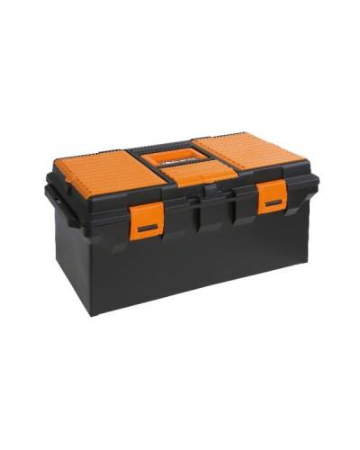 Caja para herramientas con bandeja extraíble (sin herramientas)